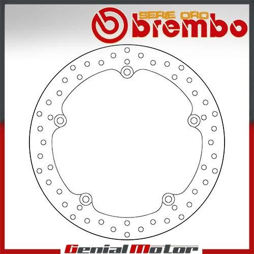 68B407G7 Disco Freno Fisso Brembo Serie Oro Anteriore per Integra 700 2012  2015