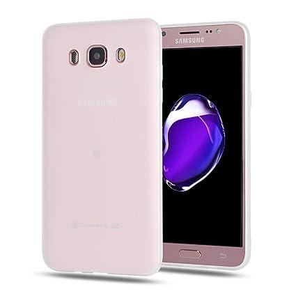 CoqueCase Funda para Samsung Galaxy J7 2016 Silicona Suave Flexible Antigolpes Goma Ultra Delgado Caso Color Cubierta Protector Bumper Case para Caja ...