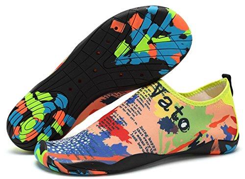 Yoga Buceo Descalzo Eagsouni Calzado Para Playa Zapatos Calcetines Unisex de Rápido Varios de Hombres A Agua Surf Secado Natación Mujeres de Piscina Colores 7axfU7q