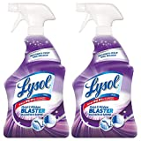 Lysol Mold & Mildew Blaster w. Bleach, Bathroom Cleaner Spray, 32oz (Pack of 2)