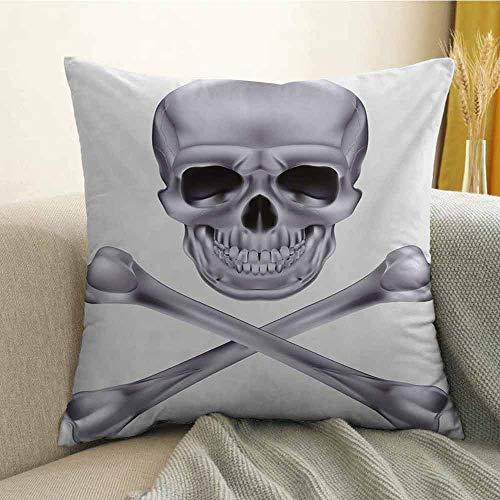 FreeKite Grey Pillowcase Hug Pillowcase Cushion Pillow Vivid