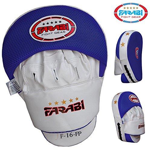 Farabi Boxing Focus Pads Training Hook Jab Punching Mitts Pair