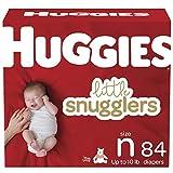 Huggies Little Snugglers Diapers, Size Newborn, 84 Ct