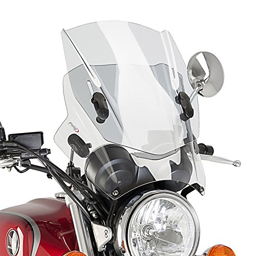 Carenabris Puig Up/&Down Honda CBF 250 04-10 C/úpula ajustable transparente