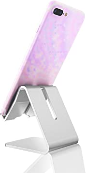 Soporte de mesa regulable para tablet, iPad y smartphone. Atril de ...