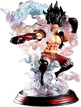 Figura de anime One Piece Pop Monkey D. Luffy de PVC con figura de figuras en forma de personajes, 28 cm