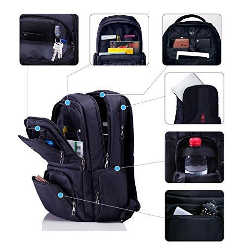 Platero laptop backpack fits 15 6 inch computer notebook - Zaino porta pc 12 pollici ...