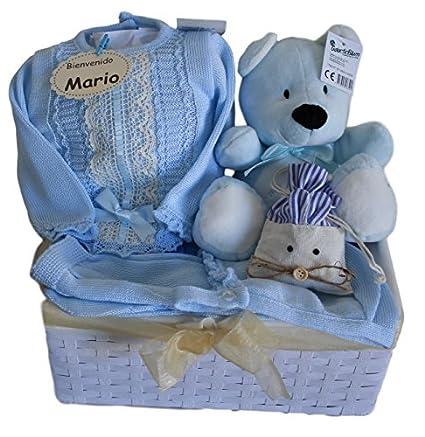 Cesta para bebé Sweet Miracle - elegante regalo para recién nacido ...