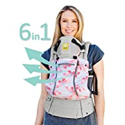SIX-Position, 360° Ergonomic Baby & Child Carrier by LILLEbaby – The COMPLETE All Seasons (Stone Catch Me If You Can)