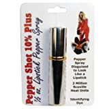 Lipstick Pepper Spray - Silver