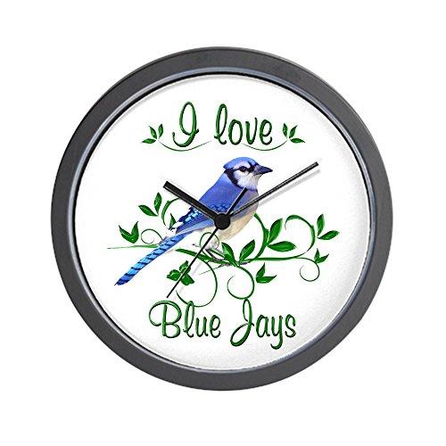 - CafePress - I Love Blue Jays Wall Clock - Unique Decorative 10