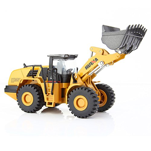 GEYIIE Loader Model 1:50 Alloy Engineering Construction Vehicle Toy for Kids