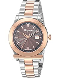 Women's '1898' Swiss Quartz Stainless Steel Casual Watch, Color:Two Tone (Model: FF3300016)
