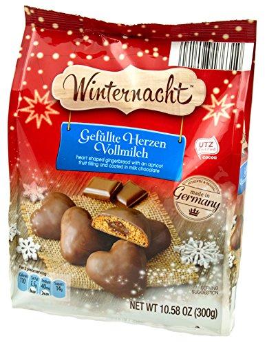 Winternacht Gefüllte Herzen Vollmilch (Heart-shaped Milk - Import It All