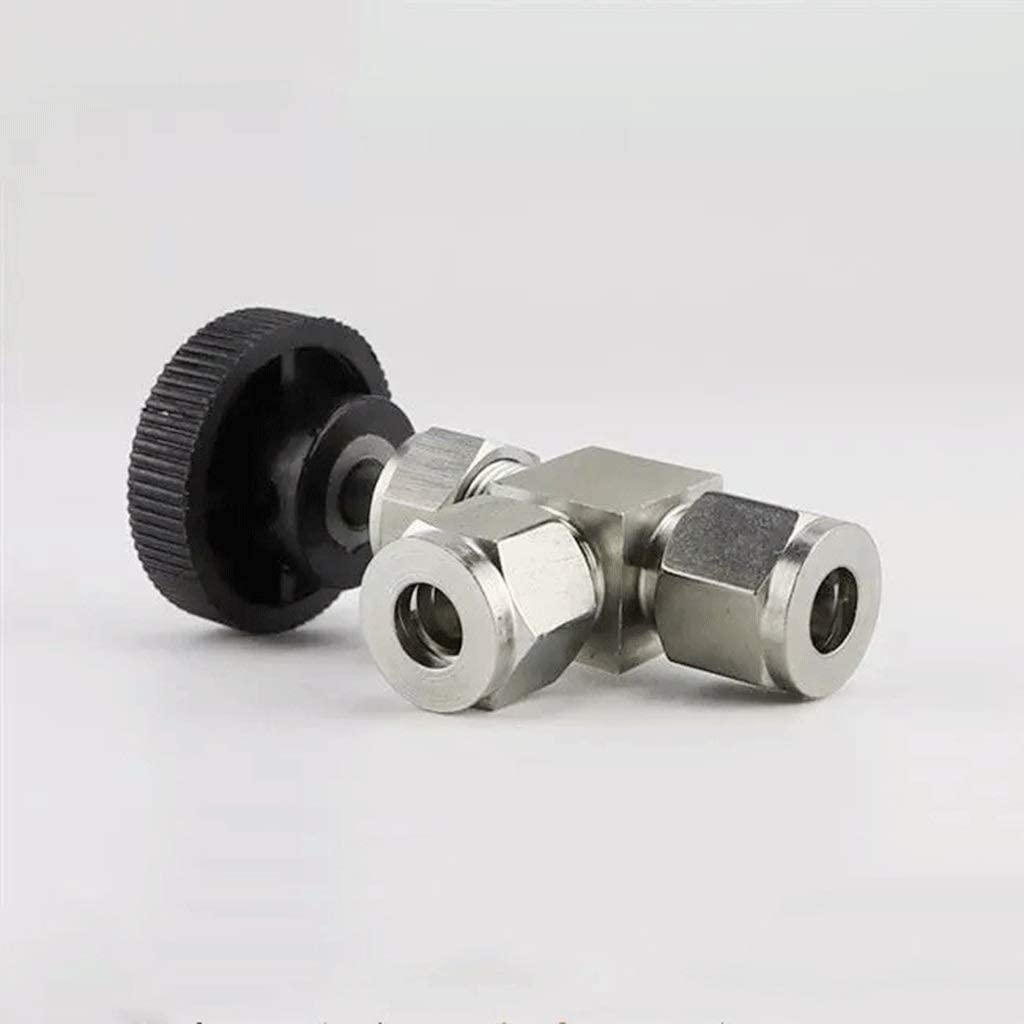 MDD 304 Stainless Steel One-Way Check Valve Full Port 1//8 1//4 3//8 1//2 3//4 Female Pressure Water Size : 6mm