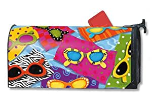 Magnet Works MailWraps Mailbox Cover - Fun in the Sun