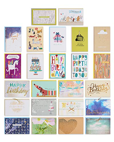 American Greetings All Occasion Premium Greeting Card Assortment, 24-Count
