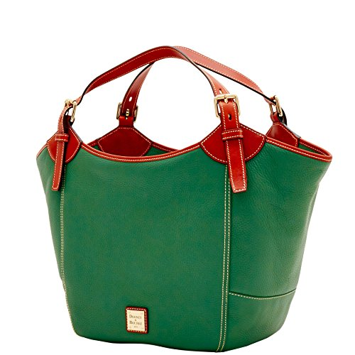 Medium Pebble Sage Dooney Bourke Valerie amp; tzCTqB