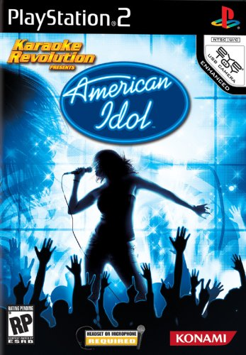 Karaoke Revolution: American Idol - PlayStation 2 (Idol Karaoke Games American Konami)