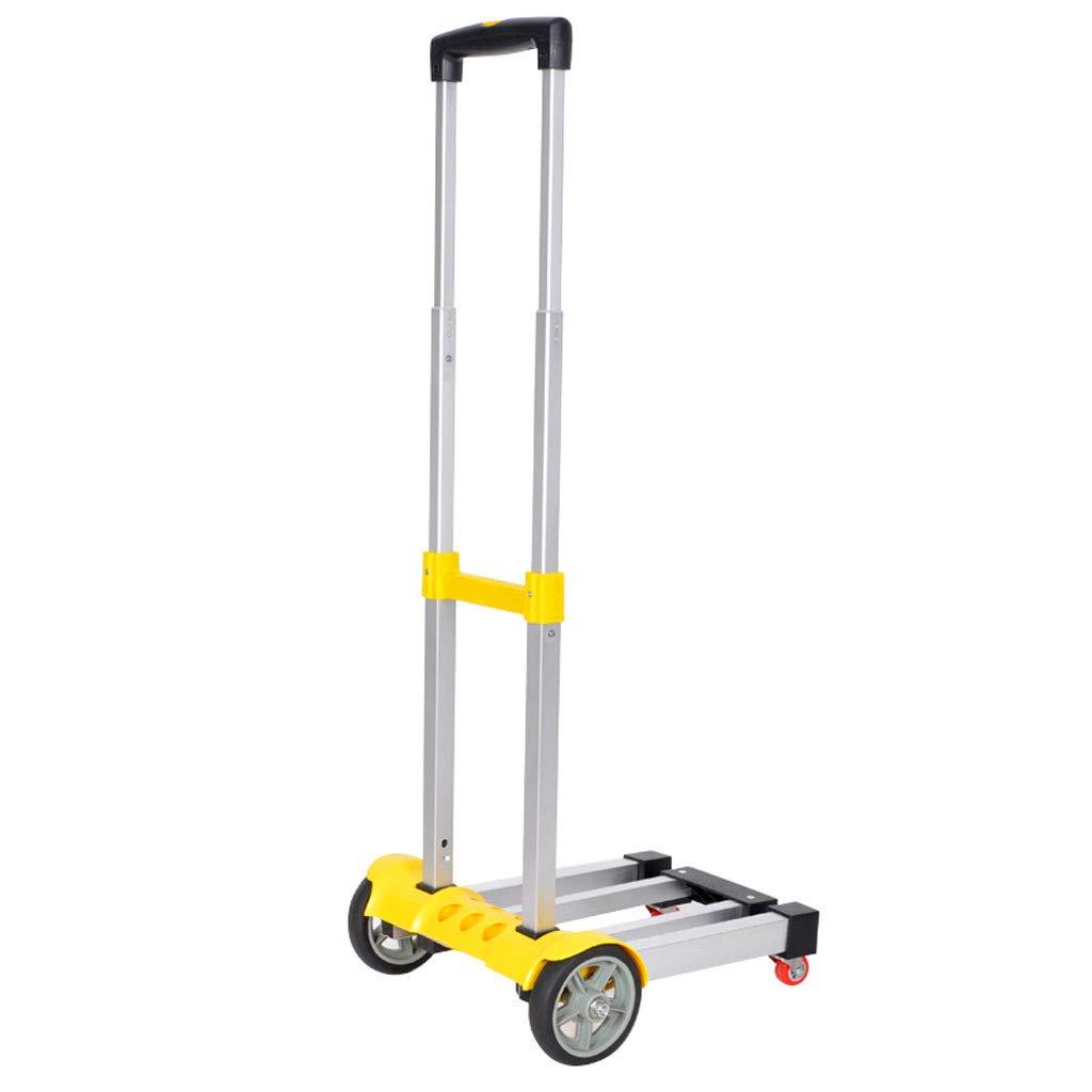 Carrello Portatile Pieghevole per Carrello Trolley in Lega di Alluminio (colore   D)