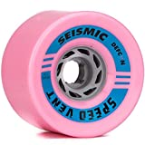 Seismic Speed Vent 85mm 77a Bubblegum Defcon Wheels (Set Of 4)