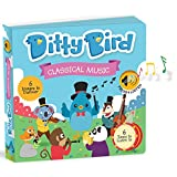 OUR BEST INTERACTIVE CLASSICAL MUSIC BOOK for BABIES with Melodies Mozart Beethoven. Educational Toys ages 1-3. Baby Books for one year old. Toddler Musical Book. 1 year old boy girl gifts.