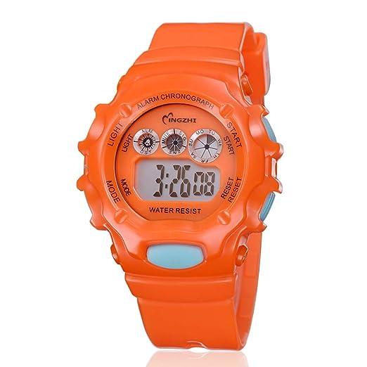 Relojes Niños Relojes de Pulseras Chicos Niñoa Chicas Digital Deportivo Impermeable Led Eléctrico Calendario Alarma Multifuncions Reloj Adolescente júnior ...