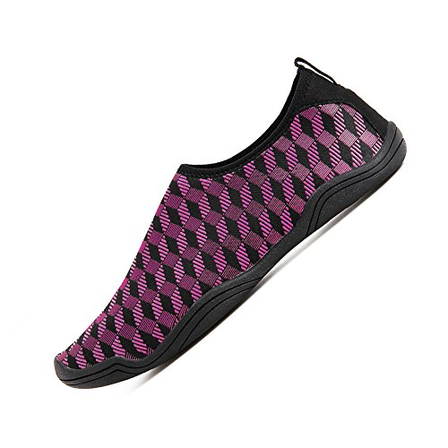 Aqua for YALOX Shoes Men Beach Quick Socks Swimming Women's N79 red Outdoor Dry Yoga Shoes Barefoot Exercise Water Surfing nO0xdOgr