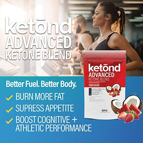 Ketond Advanced Ketone Supplement - 11.7g of goBHB per Serving (30 Servings) - #1 Rated BHB (Beta-HydroxyButyrate) Supplement for Weight Loss, Increased Energy, Focus & Fat Loss (Citrus Mango) by Ketond Nutrition (Image #2)