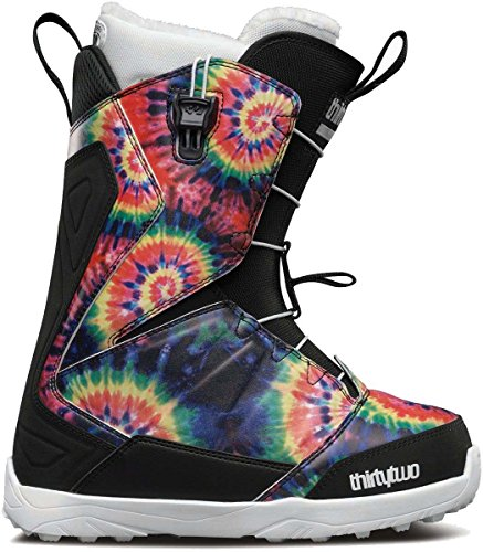 Thirty Two Womens Lashed - Thirty Two Lashed Fast Track Snowboard Boot 2016 - Women's Tie Dye 8