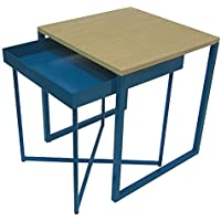 Accent Table: Room Essentials Nesting Tables BLUE 14698334