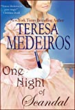 Front cover for the book One Night of Scandal by Teresa Medeiros