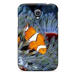 New Clownfish Family Tpu Case Cover, Anti-scratch Mwaerke Phone Case For Galaxy S4 by icecream design