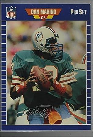 83a924e15 Amazon.com  Dan Marino (Football Card) 1988 Pro Set Test -  Base   1   Collectibles   Fine Art