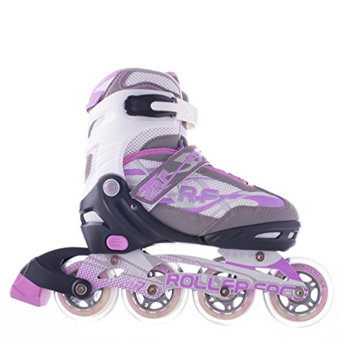 Rollerface Patines Modelo Switch 3, Color Lila, Grande