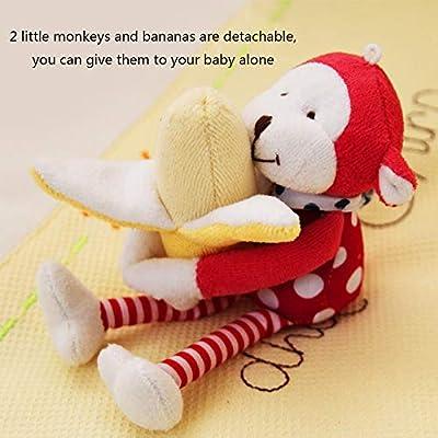 MAJINCGJ Newborn Baby Toy Baby Bed Around Plush Fabric to Appease 0-1 Newborn Baby Crib Toy Baby Stroller Pendant : Baby
