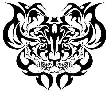 Tribal Tigers Head Tattoo Design Tiger Best Wall Art Vinyl