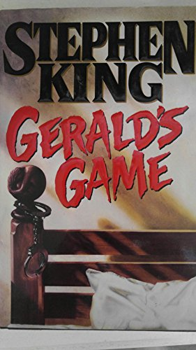 Gerald's Game Stephen King 1st edition 1st print !