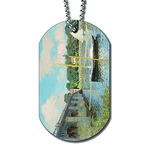 Carte De Pêche De La Floride - Collier Dog Tag Color1