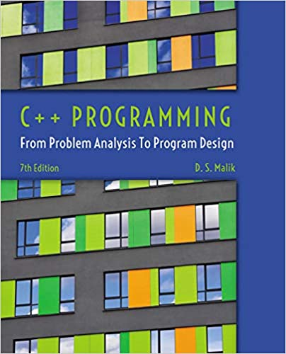 Amazon Com C Programming From Problem Analysis To Program Design