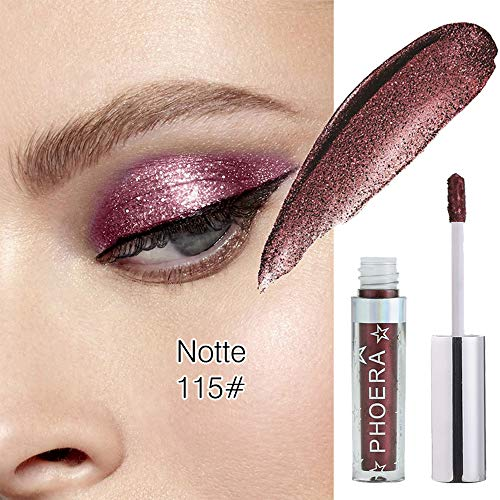 GoodLock Hot!! Fashion Glitter Glow Liquid Eyeshadow Ladies Magnificent Metals Eye Shadow Cosmetic Colorful Makeup - Long-Lasting - Highly Pigmented Natural (C) ()