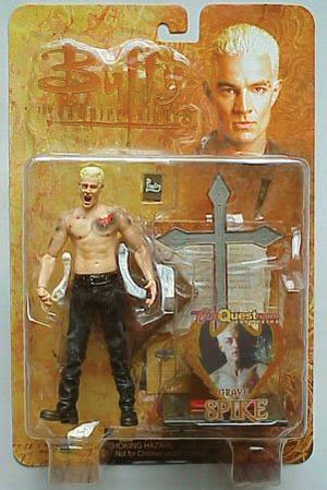 Buffy 17cm Actionfigur - ´Grave´ Spike 60570