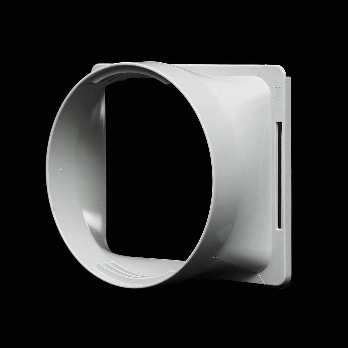 Adaptador de tubo de escape para aire acondicionado, interfaz de conducto de escape para aire acondicionado portátil, conector COD, gris: Amazon.es: Bricolaje y herramientas