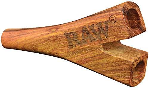 Raw ® Double Barrel Wooden Cig Holder for Supernatural Cones