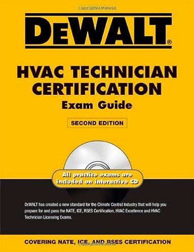 dewalt hvac technician certification exam guide dewalt series rh amazon com hvac excellence study guide pdf Test Questions
