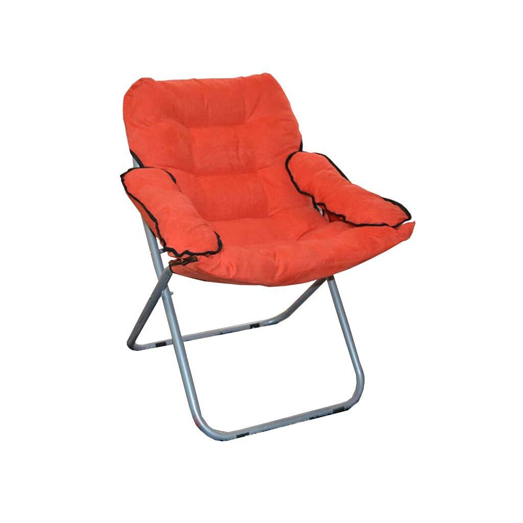 椅子,QZ HOME 現代シンプルなソフト快適な布コットンアームチェアナッピングチェアポータブルフォードラウンジチェア (色 : 4) B07HP2RD7Z 4 4