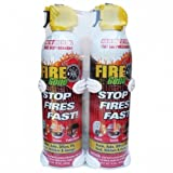 FIRE GONE 2-FG-7209 16-oz Fire Gone Suppressant with Bracket, 2 pk