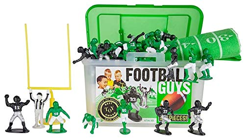 College Football Decorations - Kaskey Kids Football Guys - Black/Green