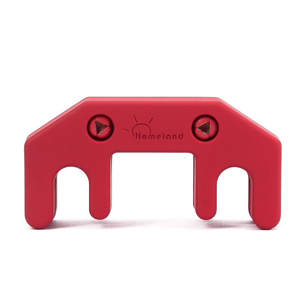 MagiDeal Red Professional Zinc Alloy Practice 3/4 4/4 Violin Mute - Black STK0157002648