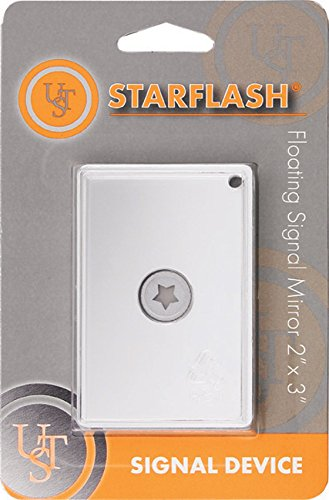 UST StarFlash Floating Signal Mirror, 2x3 - Mirror Flash